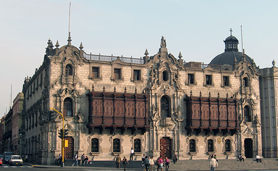 Lima, Archbishop Palace